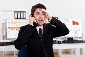 Chyba pri telefonovaní